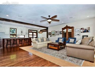 Living Room, Island, Dining